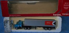 Herpa Promotex (H0)1:87 CP Rail Transport Tractor Trailer Truck  B1 #Herpa #AeroKenworth