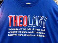 Theology (n): The field of study and analysis to build a world champion baseball team at Clark and Addison. Chicago Cubs Fans, Chicago Cubs World Series, Chicago Cubs Baseball, World Series 2016, Baseball Injuries, Cubs Win, Go Cubs Go, Cubbies, Guys And Girls