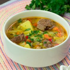 Lunch Recipes, Soup Recipes, Cooking Recipes, Healthy Recipes, Romanian Food, Russian Recipes, Healthy Meal Prep, Soups And Stews, Soul Food