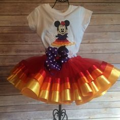 Minnie Mouse Fiesta Cinco de Mayo Tutu Costume - pinned by pin4etsy.com