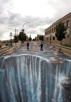 70 Stunning 3D Street Painting