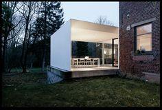 Overdekt terras / betonvloer