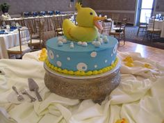 Rubber Duck Baby Shower Theme