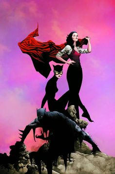 "geekynerfherder: "" Cover art by Jae Lee & June Chung, for 'Batman / Superman' published August 2014 by DC Comics. Batwoman, Batgirl, Batman Et Catwoman, Batman Et Superman, Catwoman Cosplay, Marvel Comics, Dc Comics Art, Fun Comics, New 52"