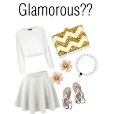 Glamorous?? by lraspudic on Polyvore featuring polyvore, fashion, style, Topshop, Abercrombie & Fitch and Edie Parker