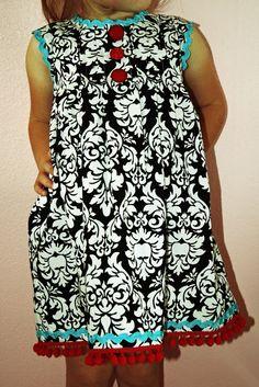 DIY Fancy Nancy Dress - iCandy handmade