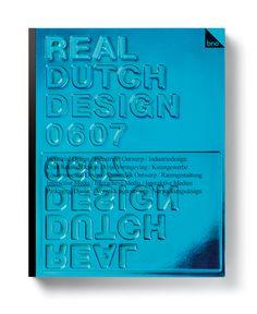 Real Dutch Design books by Marcel Kampman, via Behance