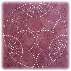 Resultado de imagem para bordado japones sashiko
