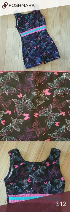 Girl's Leotard, Sz. 6 Small Girl's leotard in a stylish butterfly print.  Size 6 (Small).  Perfect for dancing and/or gymnastics.  Made by Freestyle (a Danskin company).  Excellent pre-owned condition. Freestyle Other