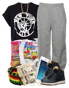"""""""2 14 14"""" by miizz-starburst ❤ liked on Polyvore featuring River Island, Paul's Boutique, Beats by Dr. Dre, Vallour, Lauren Conrad, NIKE and ASOS"""