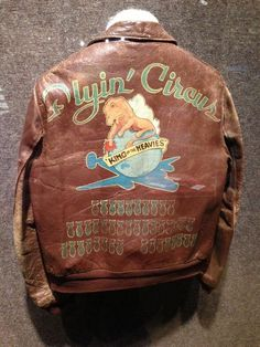 WWII FIGHTER BOMBER JACKET ART