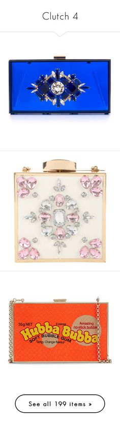 """""""Clutch 4"""" by alina-chipchikova ❤ liked on Polyvore featuring bags, handbags, clutches, hand bags, clear handbags purses, lucite purse, blue purse, blue handbags, hard clutch and box clutch"""