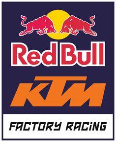 Logo KTM Red Bull Factory Racing PNG *.PNG