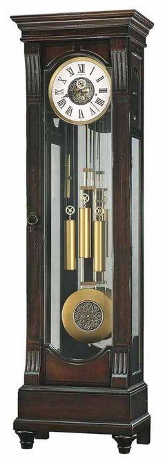 Wood Insert, Howard Miller, Craftsman, Design Inspiration, House Design, Flooring, Grandfather Clocks, Home Decor, Cherry Finish