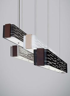 Revel Linear Suspension Antique Bronze by TECH Lighting