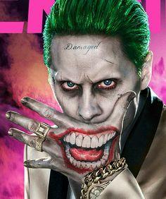 Joker Images, Joker Pics, Joker Art, Pennywise Tattoo, Joker Kunst, Joker Arkham, Clown Horror, Joker Drawings, Jared Leto Joker