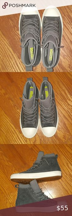 Barbie Charcoal Gray High Top Tennis Shoes Sneakers for Ken BROAD SLIM ALL