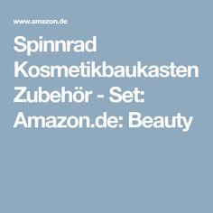 Spinnrad Kosmetikbaukasten Zubehör - Set: Amazon.de: Beauty