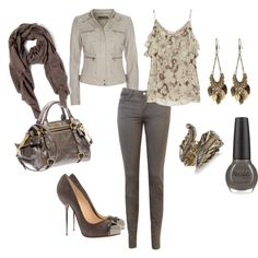 pretty taupe, created by projectfabulous1