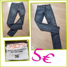 Jean stretch taille basse