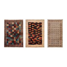 PERSISK GABBEH L Rug, high pile IKEA Hand-knotted by skilled craftspeople, and therefore unique in design and size.
