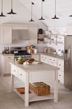 From midnight-snack grazing to lazy breakfasts at home — where the food is, there you will find us. But, just because the kitchen is a useful space for sautéing up a storm doesn't mean it should lack one ounce of charm. The 10 kitchens ahead run the gamut from subtle to bold, rustic to modern. There's something for every style, and decorating tricks to steal no matter what you're trying to achieve.