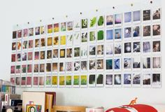 Wall Pocket or Photo Album for Fujifilm Instax Mini Film Holder photos) Instax Mini Ideas, Instax Mini Album, Instax Mini Camera, Instax Mini Film, Polaroid Display, Polaroid Wall, Polaroids, Polaroid Camera, Instax Wall