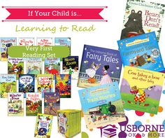Best of Usborne's Learning to Read Books