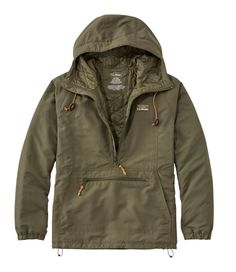 Find the best Men's Mountain Classic Insulated Anorak at L. Our high quality Men's Outerwear and Jackets are thoughtfully designed and built to last season after season. Cool Outfits, Casual Outfits, Men Casual, Mens Outdoor Clothing, Mens Outdoor Fashion, Tactical Wear, Korean Fashion, Mens Fashion, Anorak Jacket