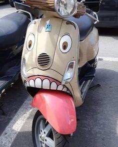 Motorcycle memes humor 34 Ideas for 2019 Piaggio Vespa, Scooters Vespa, Motos Vespa, Motor Scooters, Scooter Scooter, Scooter Motorcycle, Weird Cars, Cool Cars, Motorcycle Memes