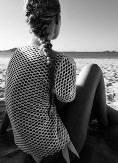 braids by the beach french braids, beach