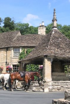 "Castle Combe ""The Prettiest village in England ."" by Bill Swan at PicturesofEngland.com"