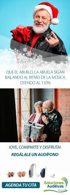 Que el abuelo, la abuela sigan bailando al ritmo de la música, oyendo al 110% Regálale un audífono  ¡Oye, comparte y disfruta!  ¡Agenda tu cita! Tel: +57(1) 6110808   WhatsApp: 300 5260573 Movies, Movie Posters, Grandparent, Quote, Dancing, Day Planners, Films, Film Poster, Cinema