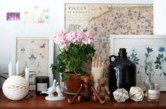 La petite fabrique de rêves: Vintage spirit : chez la créatrice Lisa Marie Andersson ...