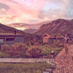 Sunset at the Eco Cabins at Kogelberg Nature Reserve #kogelberg #getaway