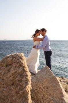 weddings in Mykonos by www.spyrospaloukis.com Mykonos, Destination Wedding Photographer, Wedding Photography, Weddings, Couple Photos, Couples, Couple Shots, Wedding, Couple