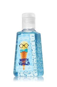Nerdy Vanilla PocketBac Sanitizing Hand Gel - Anti-Bacterial - Bath & Body Works