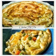 Blogghetti: Homemade Chicken Pot Pie