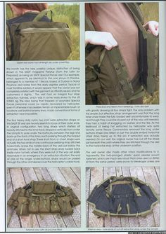 SADF Recce Commando Combat Vest - 'Combat and Survival' magazine Bushcraft Pack, Fallout Rpg, Army Gears, Tactical Armor, Expedition Trailer, Military Special Forces, Tactical Equipment, Molon Labe