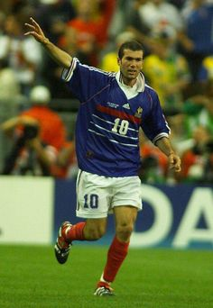 Zinedine Zidane, Soccer, Football, France, Game, Sports, Beautiful, Football Art, Football Pics