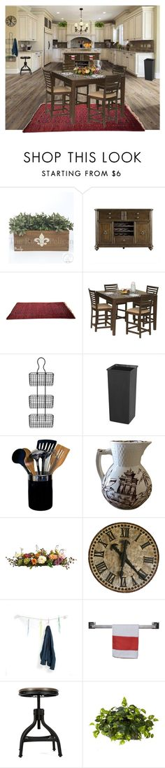 """Untitled #775"" by andi ❤ liked on Polyvore featuring interior, interiors, interior design, home, home decor, interior decorating, Stanley Furniture, DutchCrafters, Safco and Oneida"