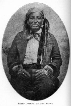Old Chief Joseph.  In honor of the indigenous people of North America who have influenced our indigenous medicine and spirituality by virtue of their being a member of a tribe from the Western Region through the Plains including the beginning of time until tomorrow