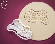 Personalized love message cookie cutter Dishwasher safe | Etsy Snowman Cookies, Star Cookies, Sugar Cookies Recipe, Cookie Recipes, Wedding Proposals, Wedding Cookies, Love Messages, Cookie Cutters, Fondant