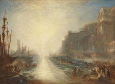 Joseph Mallord William Turner, 'Regulus' 1828, reworked 1837