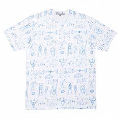 Gosha Rubchinskiy T-Shirt With All Over Print