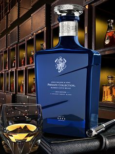 Diageo Lancuhes The Johnnie Walker Private Collection