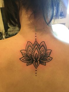 My lotus flower tattoo that I the other day