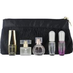Estee Lauder 5 Piece [ Beautiful + Pure White Linen + Sensuous + Pleasures + Pleasures Intense .14 oz. Eau De Parfum. All Spray] Women by Estee Lauder by Estee Lauder. $51.00. Design House: Estee Lauder. Fragrance Notes: Fragrances include notes of fresh cut flowers, rose, jasmine, and carnation. With fruity notes of citrus, melon, peach and plum; citrus and florals with lower notes of sweet woods and vanilla; fresh florals including jasmine, rose, berry, moss...