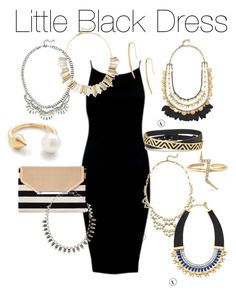 """Little Black Dress Styling"" by stella & dot www.stelladot.com/guylainedesjardins"