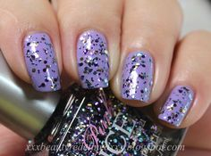Rue 21 Pink Ice Glitter Polishes - Multi Dark